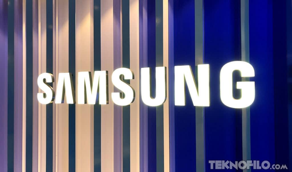 Samsung letras marca logotipo