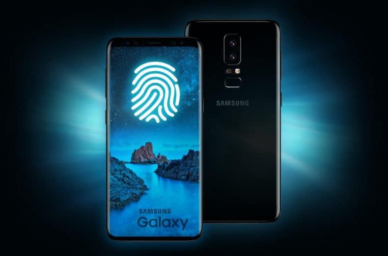 Samsung Galaxy S9 Sensor de huella bajo pantalla